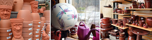 Terracotta, dragonball and glazedware