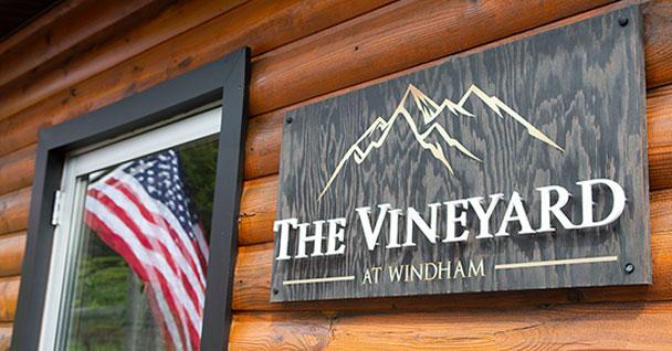 The Vineyard At Windham sign