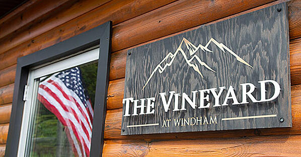 The Vineyard At Windham sign