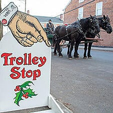 Trolley-Stop